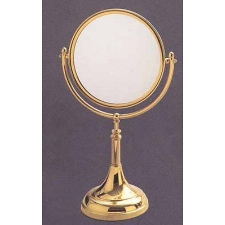 Allied Brass DM-1/4X-ORB 8-Inch Table Mirror with 4x Magnification, Oil Rubbed Bronze ()
