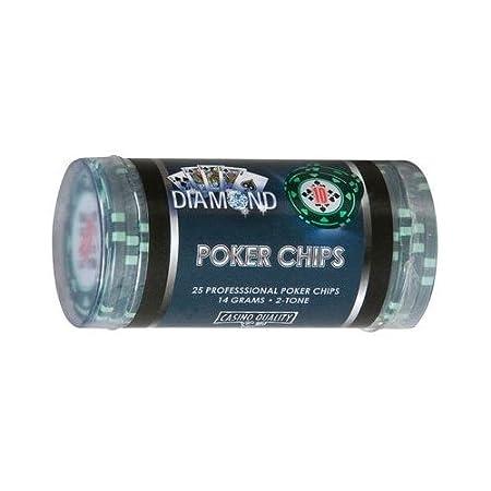 Cartamundi Poker Chips Tubetto 25 Fiches da Poker, Gioco di Società, Valore 5000 108033328 carte poker carte poker collezione carte poker fournier