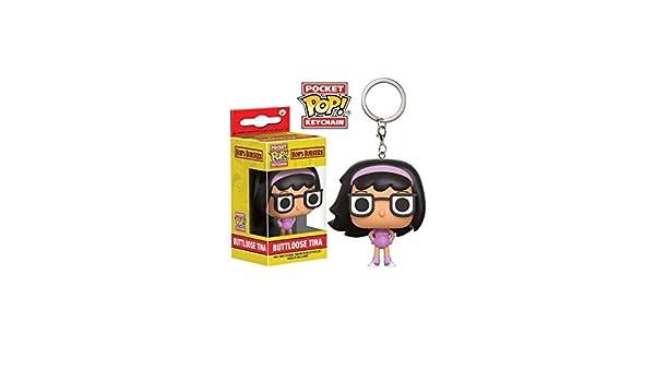 Funko Llavero Pocket Pop! Bobs Burgers Buttloose Tina ...