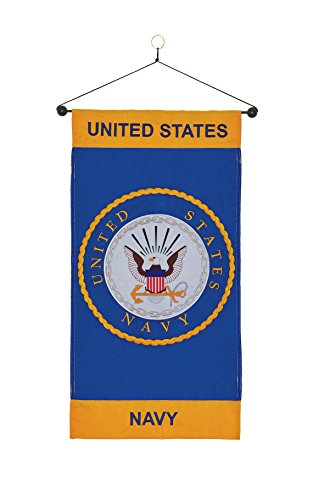Us Navy Flags Pennants (In the Breeze U.S. Navy Emblem Hanging)