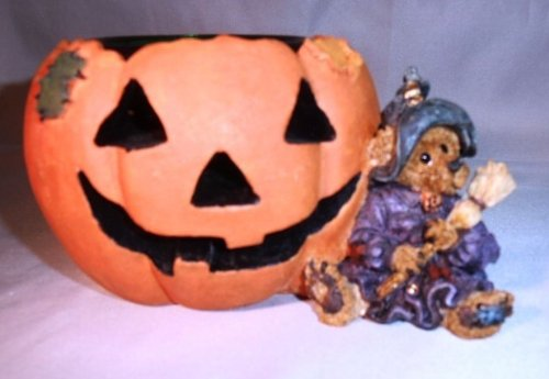 Boyds Bears and Friends - Emma the Witchy Bear ... Pumpkin Magic Style # (Witchy Bear)