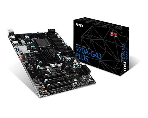 MSI 970A-G43 Plus AMD 970 Socket AM3+ ATX (G43 Msi)