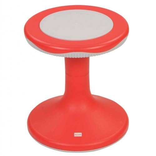 15'' K'Motion Stool - Red by Kaplan Early Learning Company