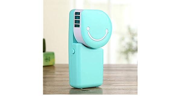 Mini caricatura aire acondicionado de mano ventilador pequeño ...
