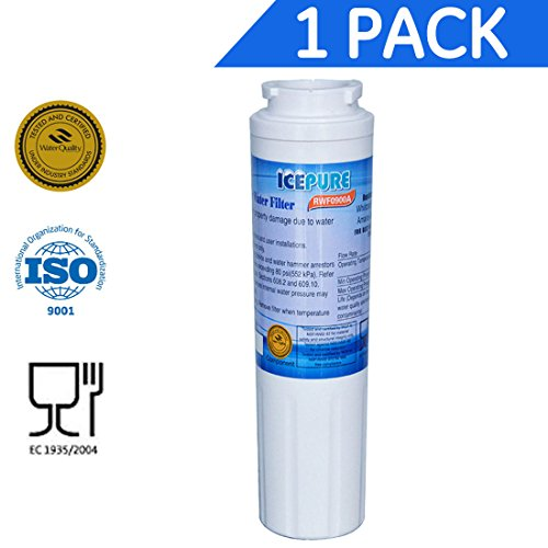 IcePure Refridgerator Water Filter, Compatible W/ Maytag UKF8001 RWFFR UKF8001AXX-750 Whirlpool 4396395 - 1 Pack