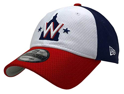 the best attitude 86e7d 13e86 New Era 2019 MLB Washington Nationals Baseball Cap Hat Bat Practice BP  9Twenty Red Navy