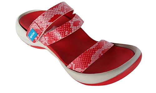 IN EGG Ciabatta REGETTA CANOE BORN HEEL RED NIPPON BORACY 7ww0x6z