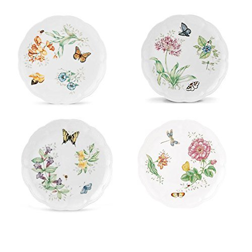 (Lenox Butterfly Meadow Dinner Plate Assorted 4p set)