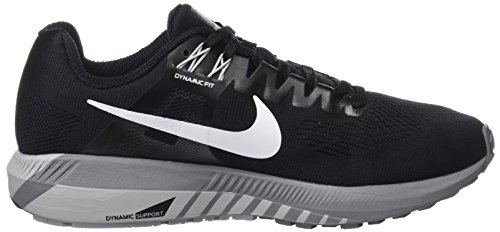 W Grey 001 wolf 21 Structure Running Donna Grey Air cool Nero Zoom Scarpe NIKE Black White 6Zdaq1xq