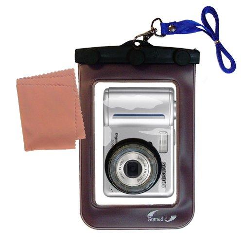 Gomadic Weatherproof Case保護Designed for Samsung Digimax s500カメラwith Unique FloatableDesign   B007FDLPTA