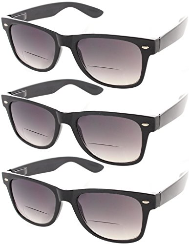Fiore Cabo 3 Pack Trendy Bifocal Sunglasses UV400 -