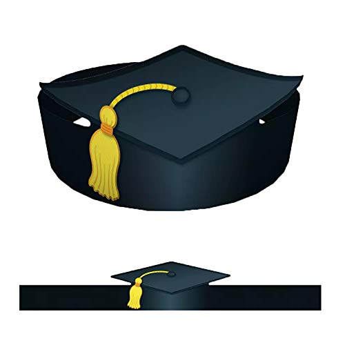 Carson-Dellosa CD-101022BN Graduation Crowns, 30 Per Pack, 2 Packs