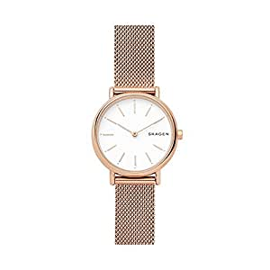 SKAGEN Women's SKW2694 Year-Round Analog-Digital Quartz Rose Gold Band Watch