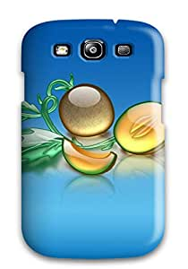 Brooke Galit Grutman's Shop 7213977K22415143 Galaxy S3 Well-designed Hard Case Cover Aqua Melon Protector
