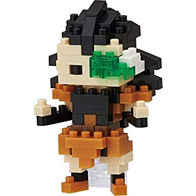 Nanoblock Dragon Ball Z Raditz Building Kit: Toys & Games [5Bkhe1804975]