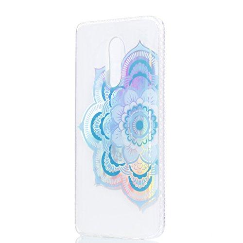 Funda Redmi Note 4X, CaseLover Carcasa para Xiaomi Redmi Note 4X Transparente Suave Silicona TPU Borde + PC Rígida Plástico Espalda Duro Protectora Caso Ultra Delgado Parachoques Híbridos Tapa Anti-Ar Media flor