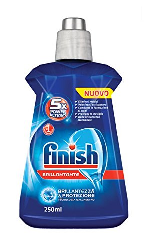 18 opinioni per Finish Brillantante Regular- 4 pezzi da 250 ml [1 l]