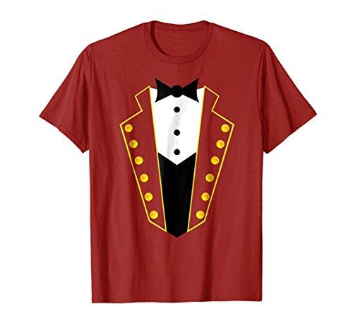 Circus Ringmaster Costume Showman Party Kids Shirt -