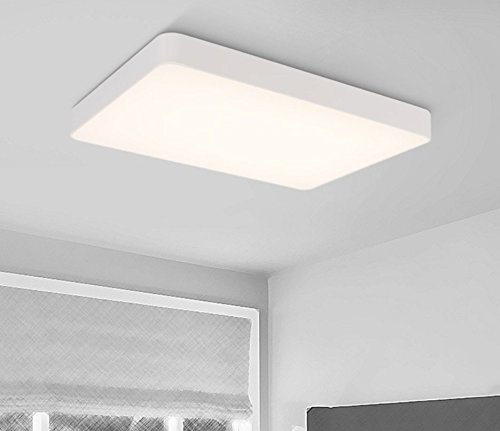 Amazon.com: CLG-FLY Lámpara de techo LED de aluminio, sala ...