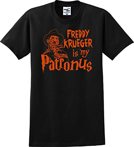 Utopia Sport Freddy Krueger is My Patronus Friday The 13th Parody T-Shirt (S-5X) (XX-Large, Black) -
