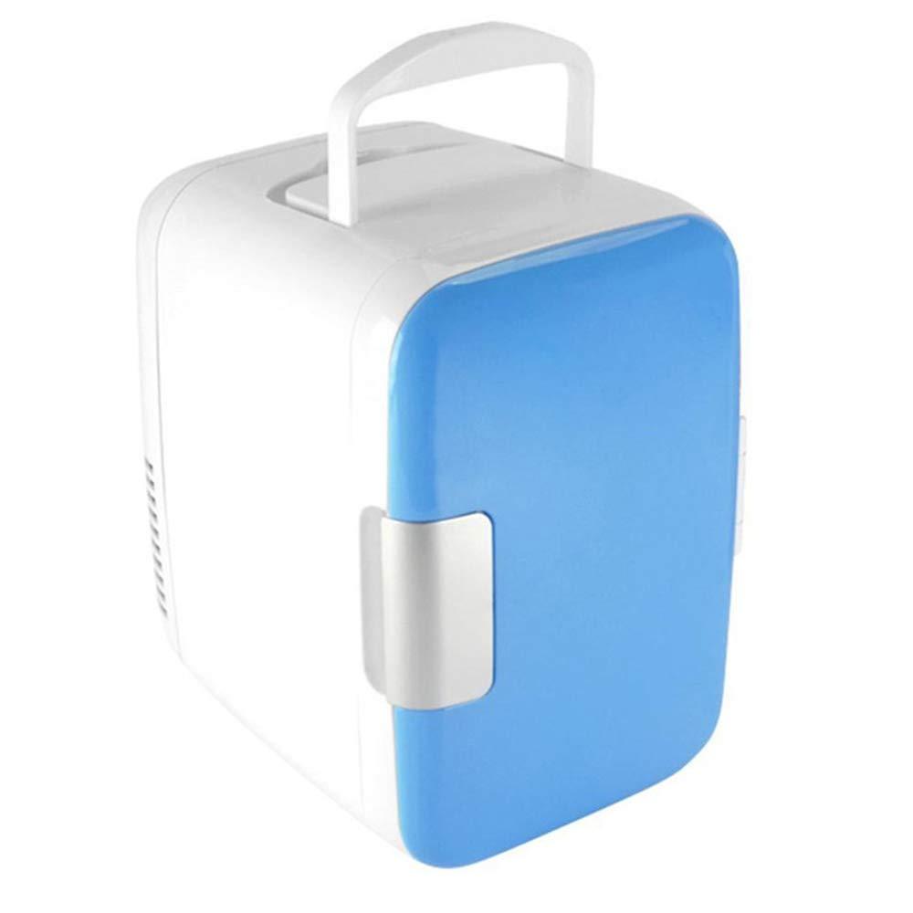 GJR-BX Refrigerador de Coche eléctrico 4L Coche hogar Doble Uso ...
