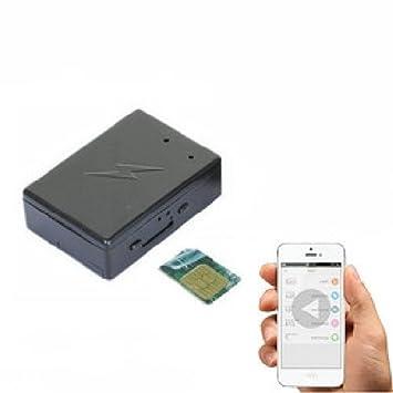 Agente007 - Microfono Gsm Inalambrico Espia Con Camara Mms Grabacion Video En Sd Con Deteccion De Sonido Y Geolocalizacion: Amazon.es: Electrónica