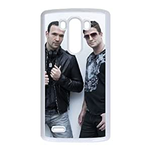 LG G3 Cell Phone Case Covers White Global Deejays E5920159
