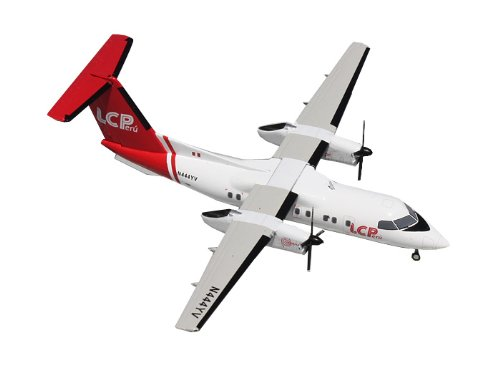 Gemini Jets 8-200 LC Peru Dash Diecast Aircraft, 1:200 Scale