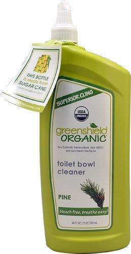 Pine Toilet (GreenShield Organic Toilet Bowl Cleaner Pine -- 24 fl oz - 2pc)