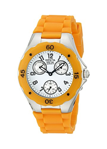 Invicta Unisex 18792 Angel Orange/White Silicone Watch
