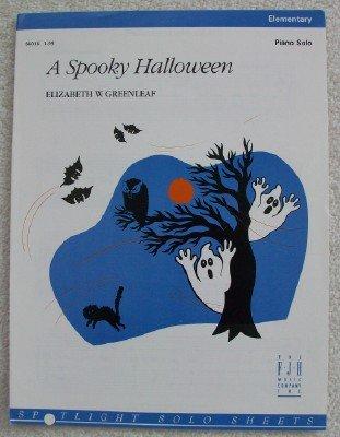 A Spooky Halloween. Elementary Piano Solo (Spotlight Solo Sheets) ()
