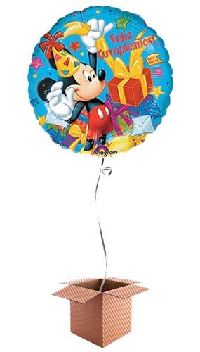 PARTYRAMA.CO.UK Feliz Cumpleanos Mickey Mouse Globo de ...