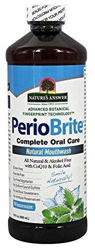 (Periobrite Alcohol-free Mouthwash Wintermint - 16 Oz. Formerly Periowash)