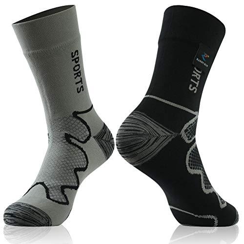 [SGS Certified] RANDY SUN Unisex Waterproof & Breathable Hiking/Trekking/Ski Socks 1 Pair