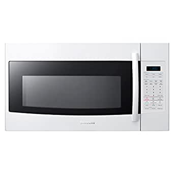 SMH1816W 1.8 Cu Ft Over The Range Microwave With 1100 Watts Cooking Power 400 CFM Ventilation System 10 Power Levels 12 Sensor Cook Options Four Instant Cook Pads & Auto