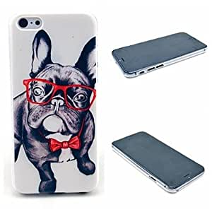 GJY Happy Glasses Dog Pattern Hard Cover for iPhone 6