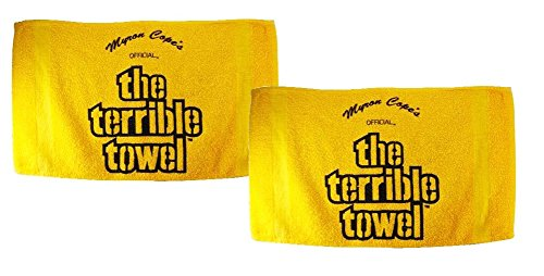 Official Pittsburgh Throwback Terrible Towels - Set of Two from Little Earth