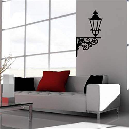 Wall Stickers Decals Art Words Sayings Removable Lettering Iron Lantern Stickers