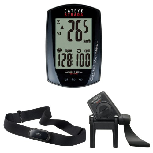 CatEye Strada Digi-W CC-RD430DW bike computer wireless black Review