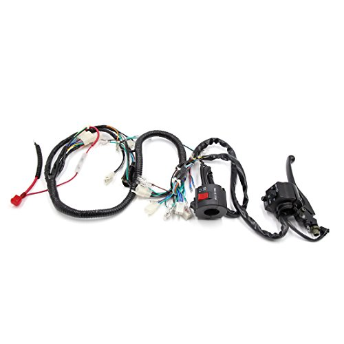 41%2BtgjCmMLL sourcingmap� scooter motorcycle electrical main wire harness w  at soozxer.org