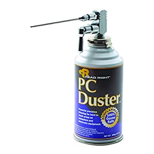 read right pc duster with valve assembly 10 ounce can non flammable rr3508. Black Bedroom Furniture Sets. Home Design Ideas