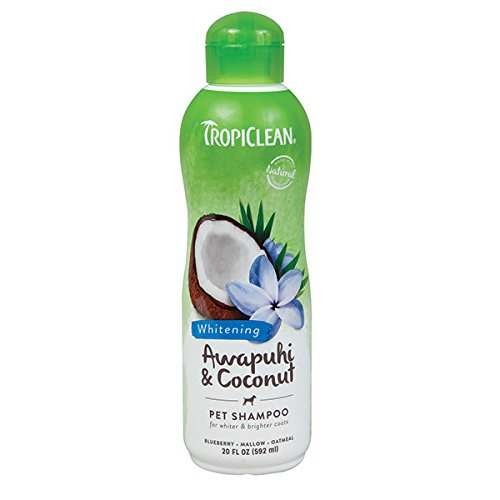 TropiClean Whitening Awapuhi Coconut Shampoo