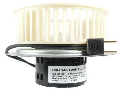 NuTone 0695B000 Motor Assembly for QT80 Series Fans (Motors Nutone)
