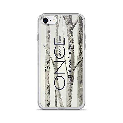 iPhone 7 Case iPhone 8 Case Clear Anti-Scratch Once Upon a Time (OUAT) - I Will Always Find You. Cover Phone Cases for iPhone 7/iPhone 8, Crystal Clear ()