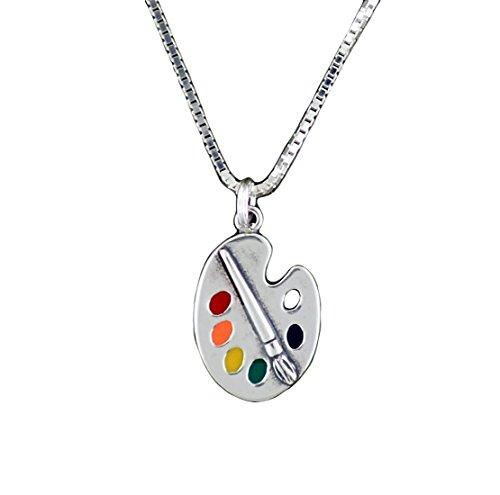 corinna-maria-925-sterling-silver-art-paint-palette-pendant-necklace-multicolor-18-inch-chain