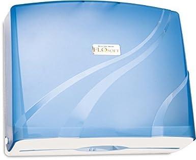 Nova Clean Tools F177 Azul FloSoft200 Dispensador de toallas de papel, color azul