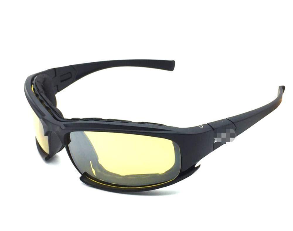 Y-YT Gafas de Deporte Sistema de polarización Gafas táctico Gafas de Sol Gafas de Tiro Esqui Ciclismo