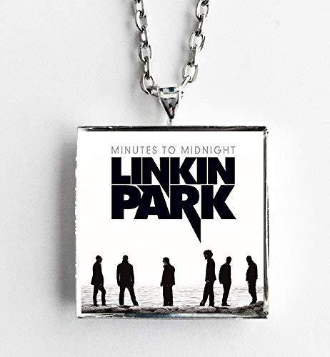 Amazon Com Album Cover Art Pendant Necklace Linkin Park