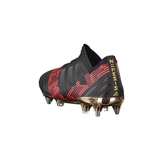 Scarpe Da Calcio Adidas Uomo Nemeziz 17+ Sg Nero (cblack / Cblack / Solred Cblack / Cblack / Solred)