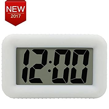 Digital Alarm Clock Electronic Desk Clock Backlight With Dimmer Snooze Home  Office Mini Alarm Clock Bedroom